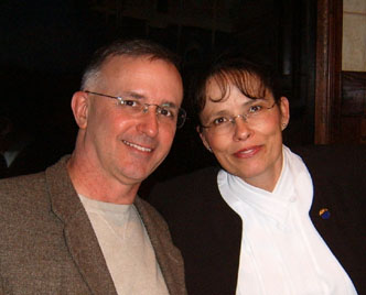 Image of                       Webmaster and his loving wife